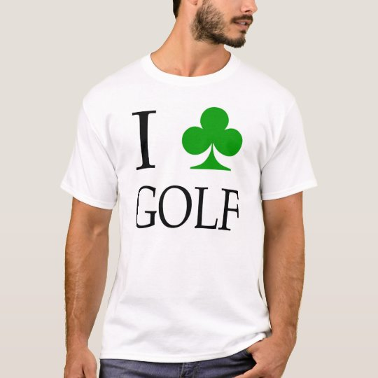 "I ""Club"" Golf T-Shirt"