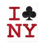 I Club NY Postcards