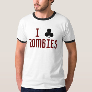 I Club Zombies v1.1 T-Shirt