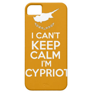 I Cnt Keep Calm Im Cypriot iPhone 5 Cases