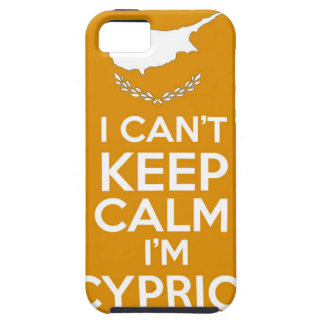 I Cnt Keep Calm Im Cypriot iPhone 5 Cover