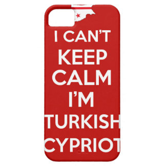 I Cnt Keep Calm Im Turkish Cypriot iPhone 5 Covers