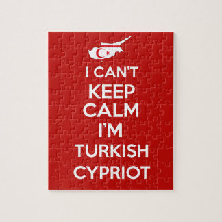 I Cnt Keep Calm Im Turkish Cypriot Jigsaw Puzzle