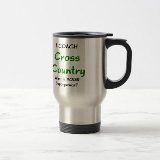 I coach cross country travel mug