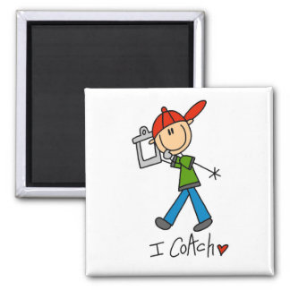 I Coach T-shirts and Gifts Magnet