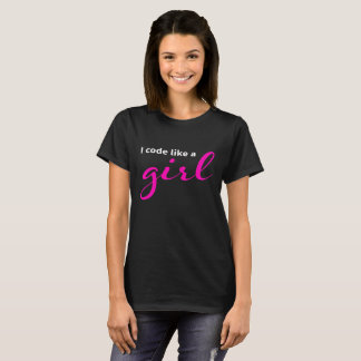 I code like a girl T-Shirt