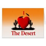 I coeur le désert cartes de vœux