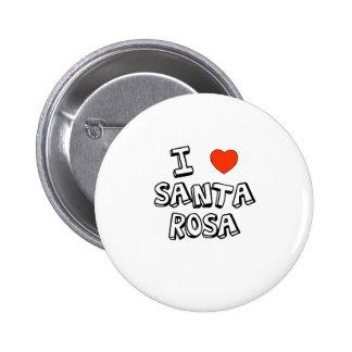 I coeur Santa Rosa Badges