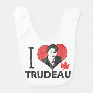 I coeur Trudeau Bavoir De Bébé
