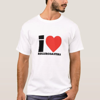 I Coil Roller Coaster T-Shirt