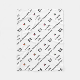 I coils Bio (EXTREMELY AND GREEN) - Word games Fleece Blanket
