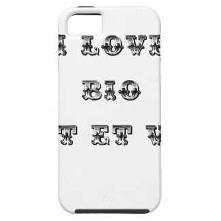I coils Bio (EXTREMELY AND GREEN) - Word games iPhone 5 Case