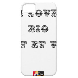 I coils Bio (EXTREMELY AND GREEN) - Word games iPhone 5 Cover