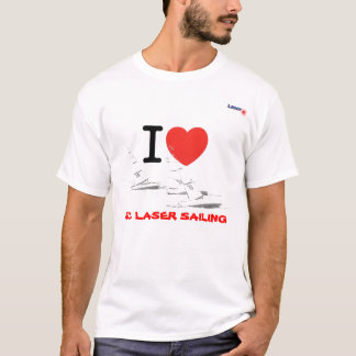 I coils laser RC Sailing T-Shirt