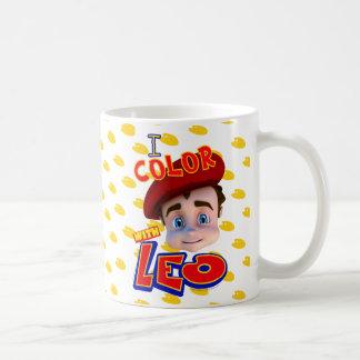 """""""I Color with Leo"""" Mug"""