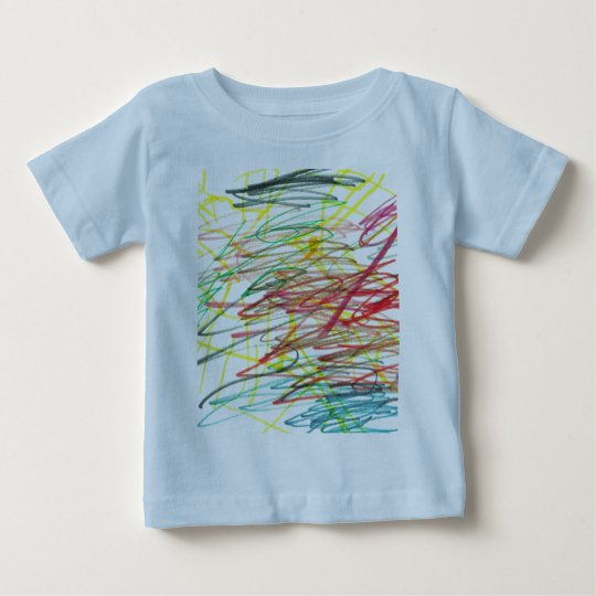 I colour outside the lines baby T-Shirt