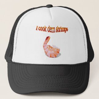 I Cook Dem Shrimps Funny Hat