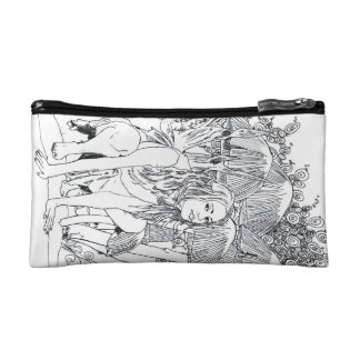 I Cosmetic Bag - Small Breena Fairy Sketch