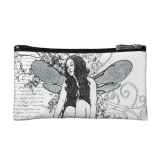 I Cosmetics Bag - Small   Scroll Fairy Makeup Bags