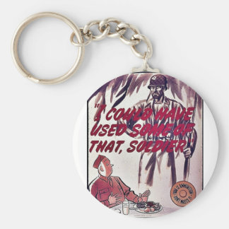 I Could Have Used Some Of That, Soldier Key Chains