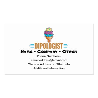I Cream Parlor Double-Sided Standard Business Cards (Pack Of 100)