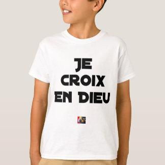 I CROSS AS a GOD - Word games - François City T-Shirt
