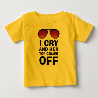 I Cry | Funny Baby | Baby Cry | Crying Baby T-Shirt