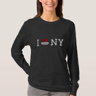 I Curl NY ~Ardsley Curling Club T-Shirt