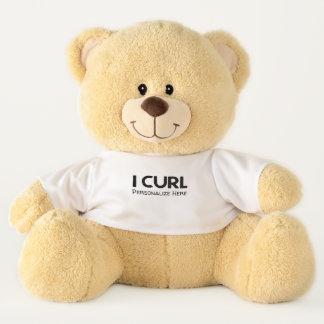 I Curl Teddy Bear
