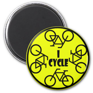 I CYCLE (BICYCLE) MAGNET