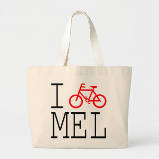 I Cycle Melbourne! Tote bag