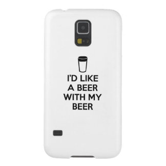 I'd Like A Beer With My Beer Cases For Galaxy S5