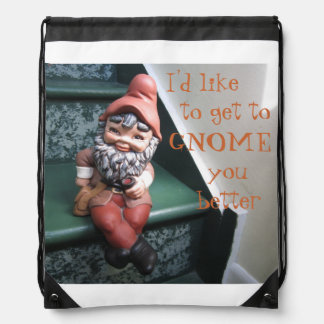 I d like to get to GNOME you better Backpack