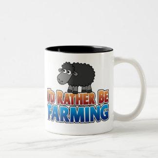 I d Rather be Farming Virtual Farming Coffee Mug
