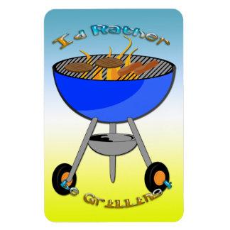 I d Rather Be Grilling Premium Flexi Magnet