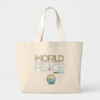 "<i>Daily Word®</i> ""World Peace"" Canvas Bags"