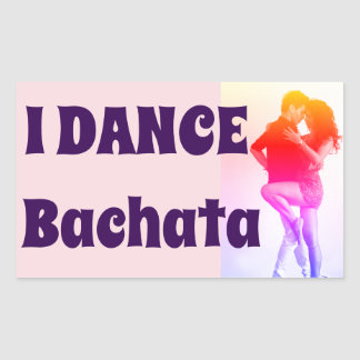 I Dance Bachata!, Salsa, Latin, Statement Sticker