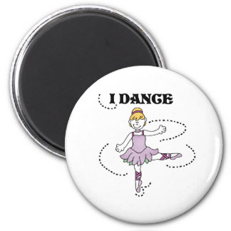 I Dance Ballerina Magnet