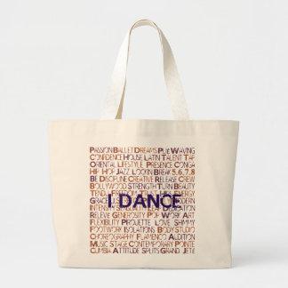 I.Dance - Purple - Big Tote Bag
