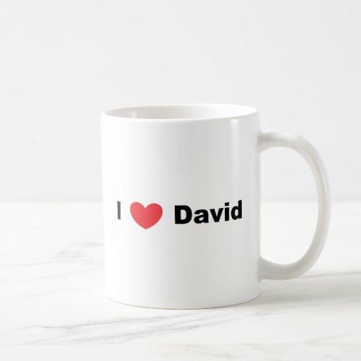 I ♥ David Mug