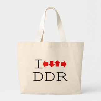 I DDR LARGE TOTE BAG