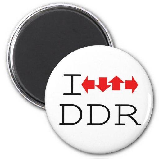 I DDR FRIDGE MAGNETS