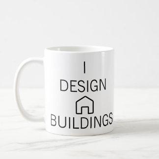 I Design Buildings Mug