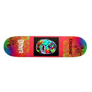 I Desire Order Freak Face Skate Boards