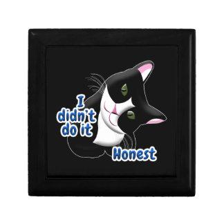 I didn't do it Cat Gift Box