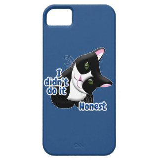 I didn't do it Cat iPhone 5 Case