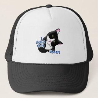I didn't do it Cat Trucker Hat