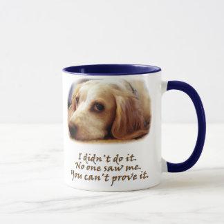 I didn't do it. mug