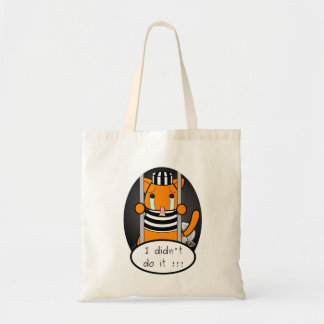 I didn't do it! tote bag