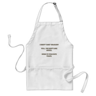 "I didn't ""look"" disabled? Rosewood Standard Apron"